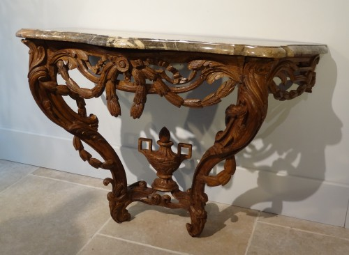French Louis XV console - Furniture Style Louis XV