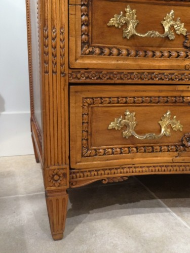 18th century - French Louis XVI Commode-scriban from Provence