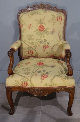 French Regence Armchair Period Early 18th Century
