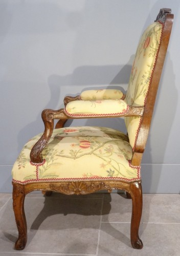 French Regence Armchair Period Early 18th Century - Seating Style French Regence