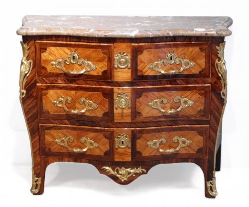 "French Louis XV commode stamped ""Sébastien VIE"""