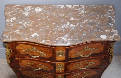 "Louis XV - French Louis XV commode stamped ""Sébastien VIE"""
