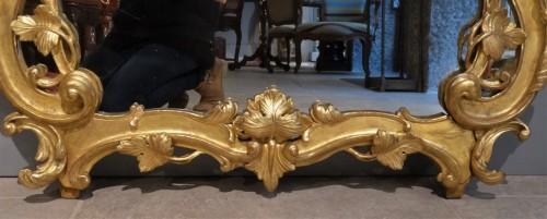 18th century - French Louis XV giltwood mirror
