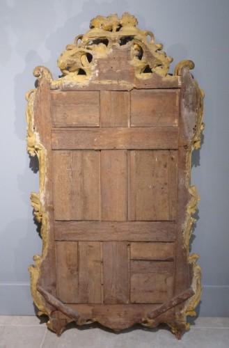 French Louis XV giltwood mirror - Louis XV
