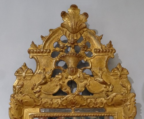 French Regence giltwood mirror - Mirrors, Trumeau Style French Regence