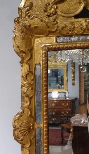 Mirrors, Trumeau  - French Regence giltwood mirror