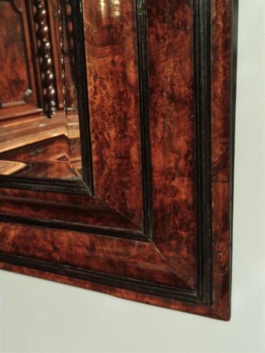 French Louis XIII Walnut Mirror - Mirrors, Trumeau Style Louis XIII