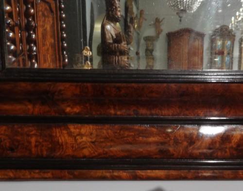 Mirrors, Trumeau  - French Louis XIII Walnut Mirror