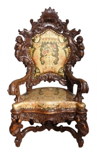 Venetian armchair 19th century