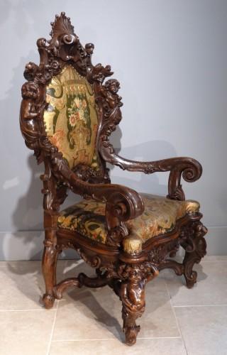 Seating  - Venetian armchair 19th century