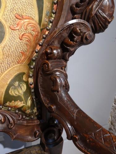Venetian armchair 19th century - Napoléon III