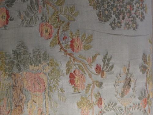 Early 18th century walnut stool - French Regence