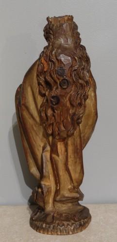 German Holy, polychrome wood, 15th century -