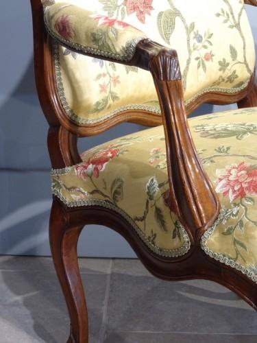 Louis XV - French Louis XV armchair