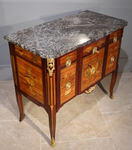 Antiquités - French Commode Transition Stamped J. Caumont 18th Century