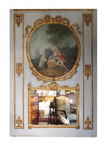 French Louis XVI Trumeau