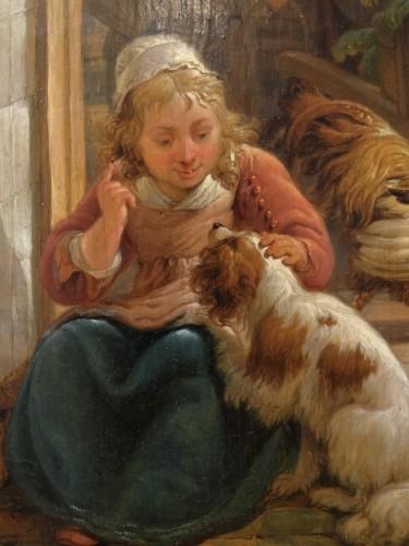 "French painting, ""interior Scene"", 19th century  -"