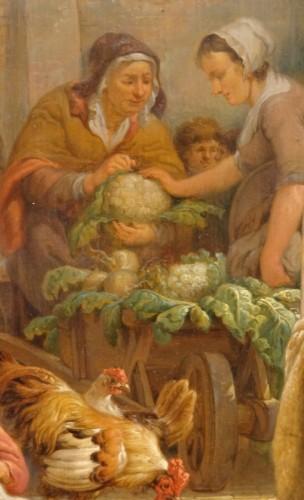 "19th century - French painting, ""interior Scene"", 19th century"