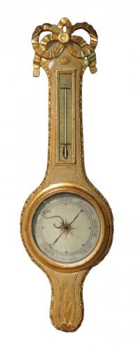 Louis XVI thermometer barometer
