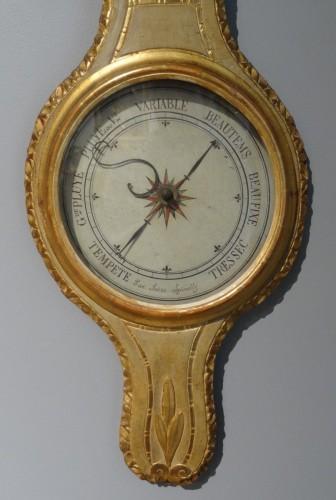 Louis XVI thermometer barometer -