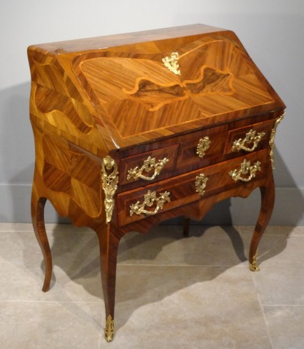 French Bureau dos d'âne from Dauphiné, 18th Century  -