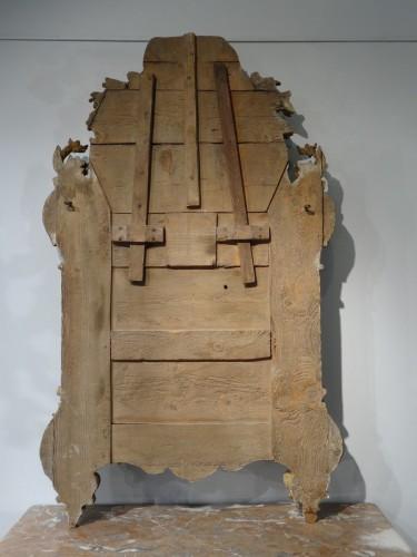 Mirrors, Trumeau  - French Regency Mirror, Gilded Wood, Circa 1720