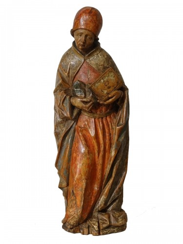 Saint Etienne polychromed, Germany 16th  century