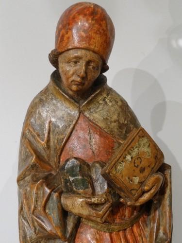 Saint Etienne polychromed, Germany 16th  century  - Sculpture Style Renaissance