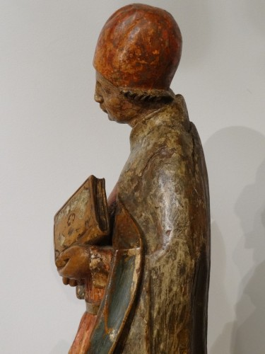 Sculpture  - Saint Etienne polychromed, Germany 16th  century
