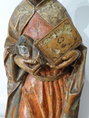 Saint Etienne polychromed, Germany 16th  century  -