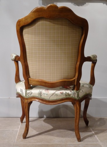 18th century - Four french armchairs Louis XV, 18th century