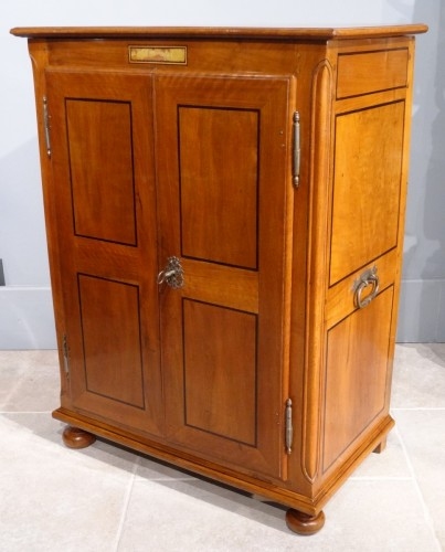 "Furniture  - French mineralogist cabinet with ""secret"", late 17th Century"