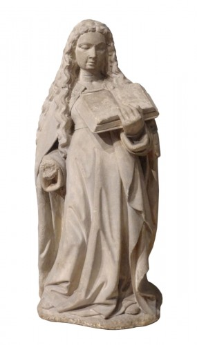 Holy carved stone, Burgundy, 15th century