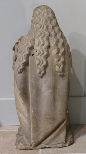 Middle age - Holy carved stone, Burgundy, 15th century