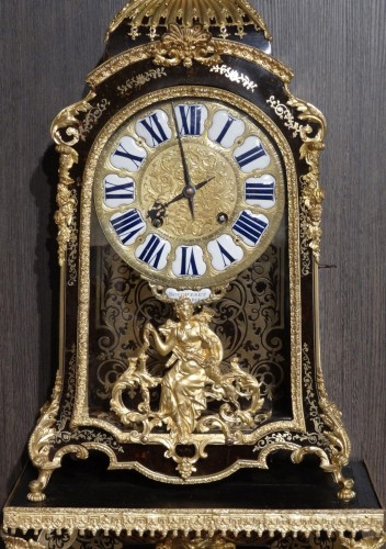 French Cartel in Boulle marquetry, Régence, 18th century  - Clocks Style French Regence