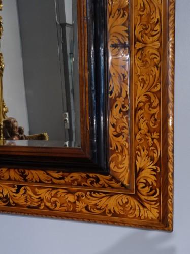 Mirrors, Trumeau  - French Louis XIV mirror, attributed to Thomas Hache, circa 1720