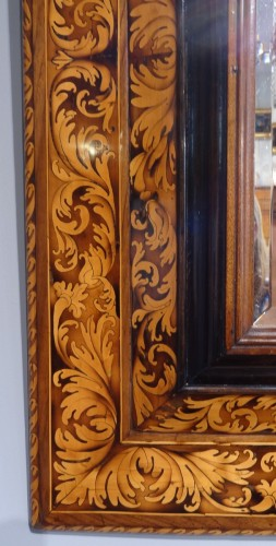French Louis XIV mirror, attributed to Thomas Hache, circa 1720 -