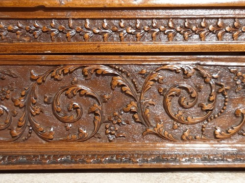 French Wedding Box, Saint Lucia Wooden, César Bagard Workshop - Louis XIV