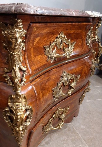 Antiquités - French commode Régence stamped MONDON (1694-1770)