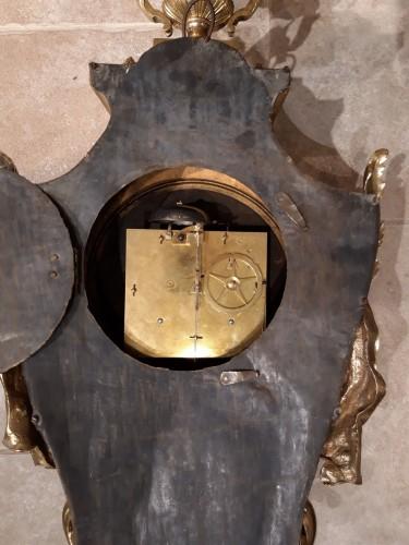 """Louis XVI - French Louis XVI cartel, by the watchmaker """"Cronier à Paris"""""""