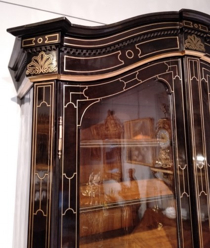 "19th century - French 19th century  glazed bookcase of ""style Regence"""