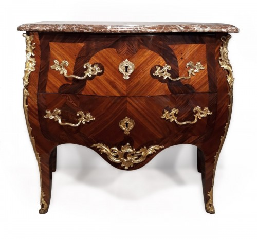 Louis XV Commode Stamped J. Dubois, received Master in 1742