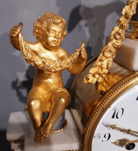 French pendulum Louis XVI, 18th century - Clocks Style Louis XVI