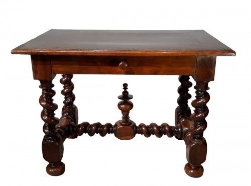 French Louis XIII Desk /table,  Walnut, 17th Century
