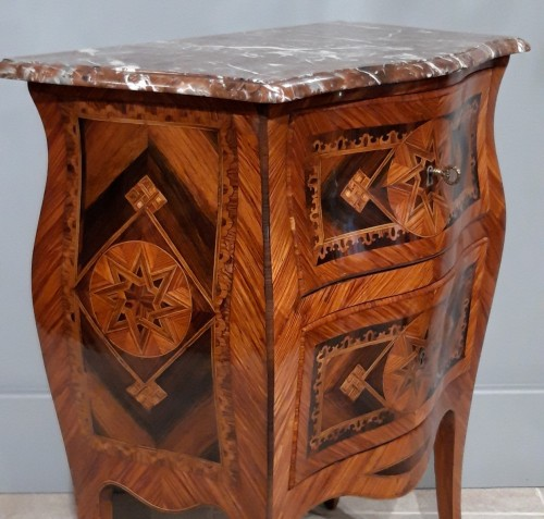 Furniture  - Small Italian Commode, Inlaid, 18th Century