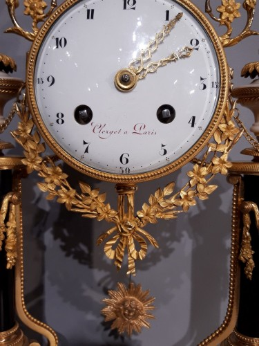 Clocks  - French Pendulum Louis XVI, 18th Century