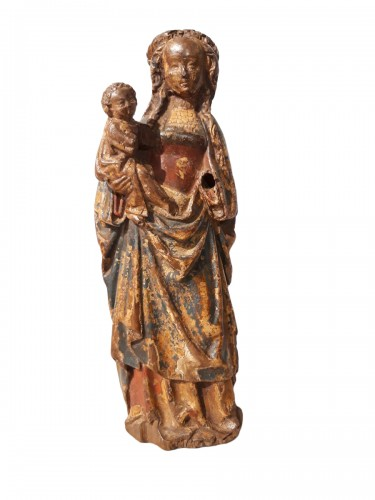 "Virgin and Child called ""Poupée de Malines"" circa 1500-1520"