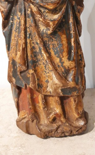 "Virgin and Child called ""Poupée de Malines"" circa 1500-1520 -"