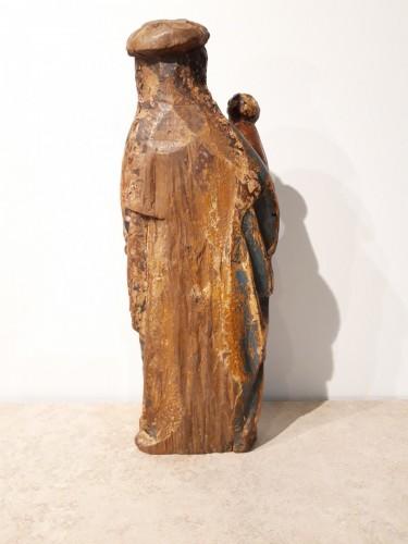 <= 16th century - Virgin and Child called &quot;Poupée de Malines&quot; circa 1500-1520