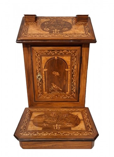 ''Prie-Dieu'' inlaid, late 17th century